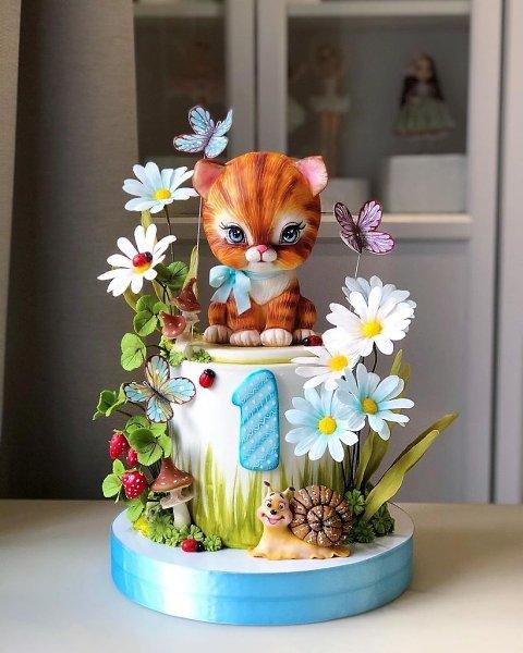 Фантастически сказочные тортики.Автор: Диля Кабилова (kabilova_cake)#креатив@bon - 2