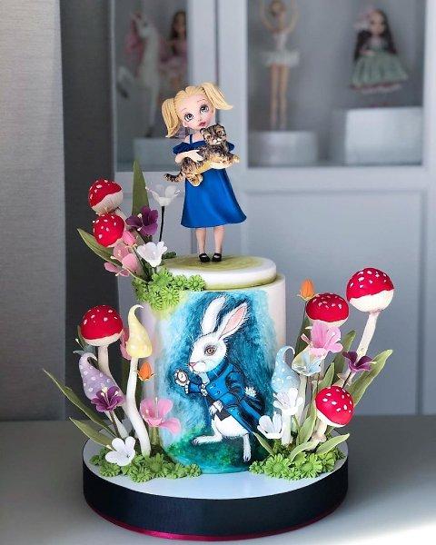 Фантастически сказочные тортики.Автор: Диля Кабилова (kabilova_cake)#креатив@bon - 6