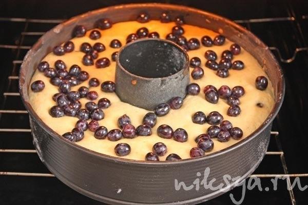 Виноградный пирог от Джеймса Оливера. Делается легко, непринужденно и очень быстро. Меня особенно ... - 5