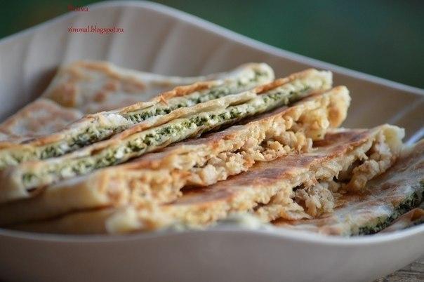Гёзлеме (Турецкие лепешки с мясом и сыром и шпинатом). Отдыхая в прошлом году с детьми, мы ели их ... - 9
