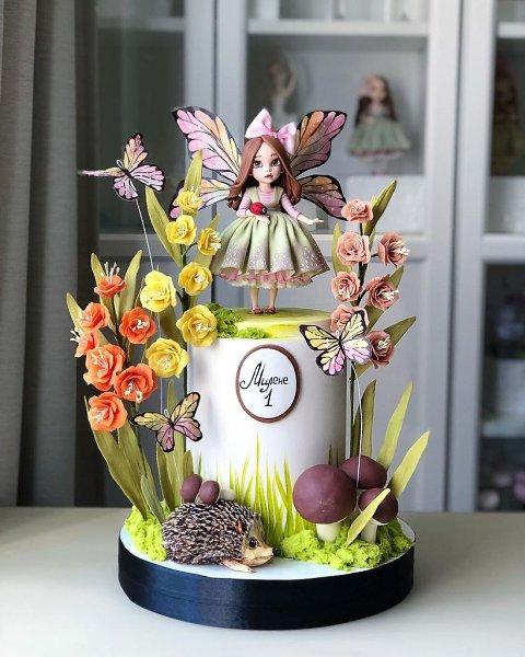 Фантастически сказочные тортики.Автор: Диля Кабилова (kabilova_cake)#креатив@bon - 5