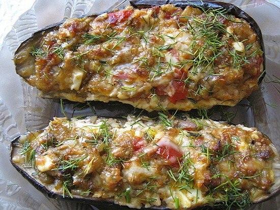 Баклажаны фаршированные по-каталонски. Очень вкусное и интересное блюдо         Ингредиенты: ...